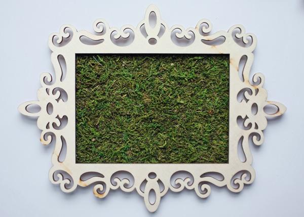 Framed Moss Tutorial
