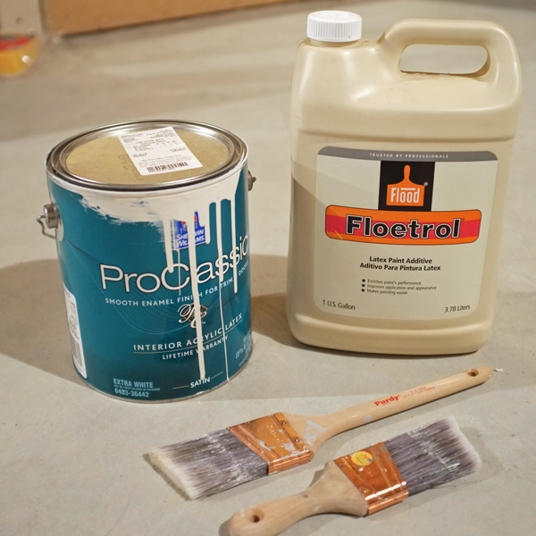 how to get a smooth paint finish on trim school of