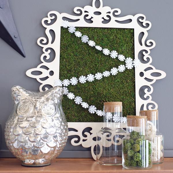 Framed Moss Spring Mantel