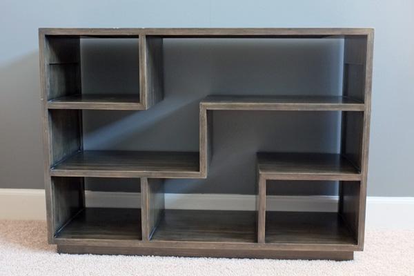 Tetris Style Bookshelf