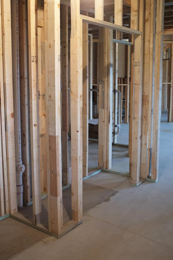 Build A Floating Basement Wall
