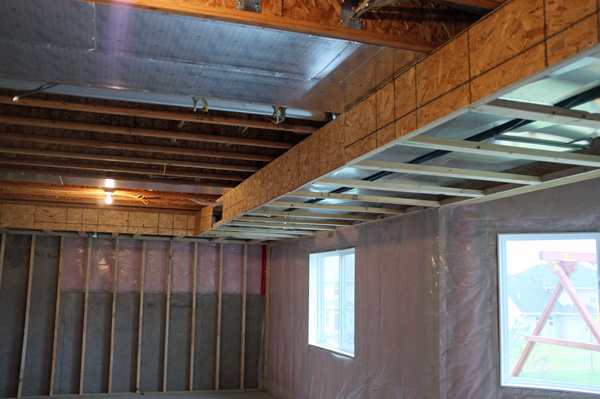 As ... & Basement Framing and Soffit Planning