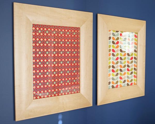 framed fine paper art
