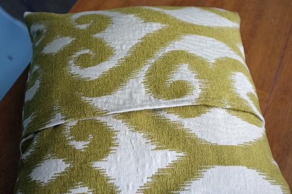 Envelope Pillow Cover Tutorial Impressive Envelope Back Pillow Cover