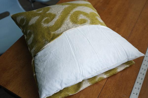 Envelope Pillow Cover Tutorial Adorable Envelope Back Pillow Cover