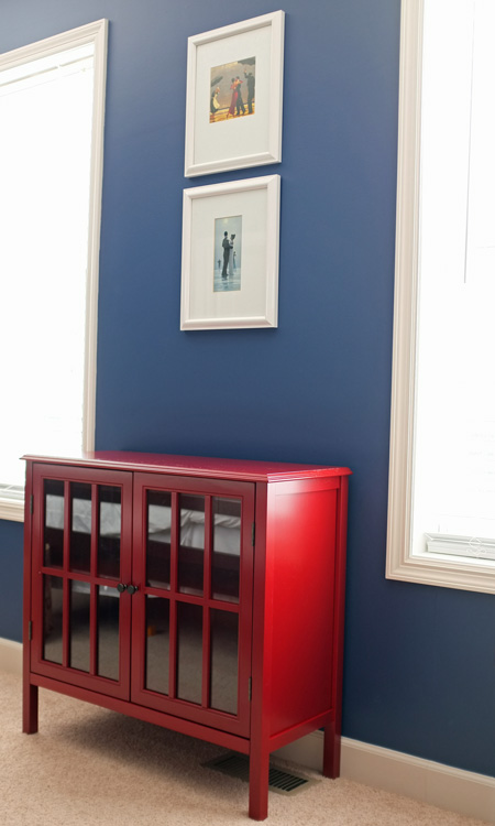 Superior It All Starts With This Amazing Little Red Cabinet.