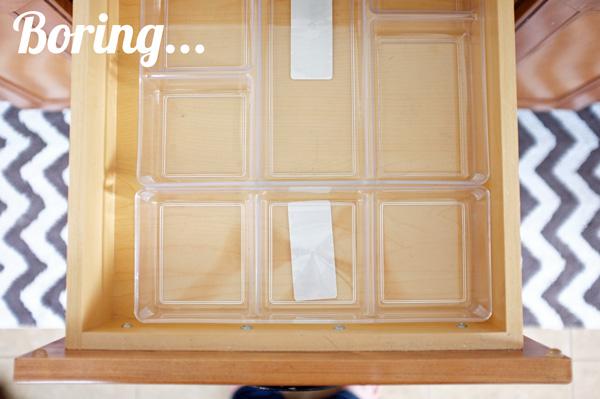 Bathroom Drawer Organizer a new way to line your drawers & make organizing fun