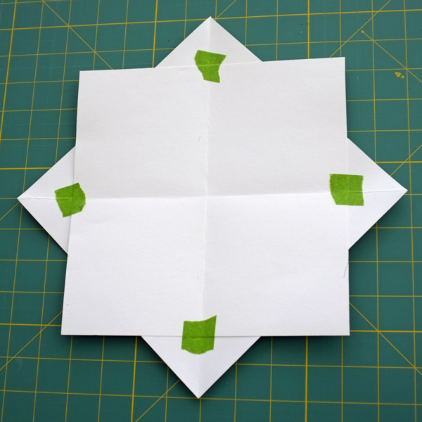 8 point star template