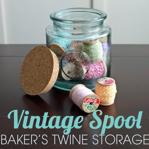 Baker's twine storage
