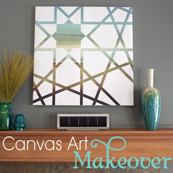 Canvas Art Paint Makeover