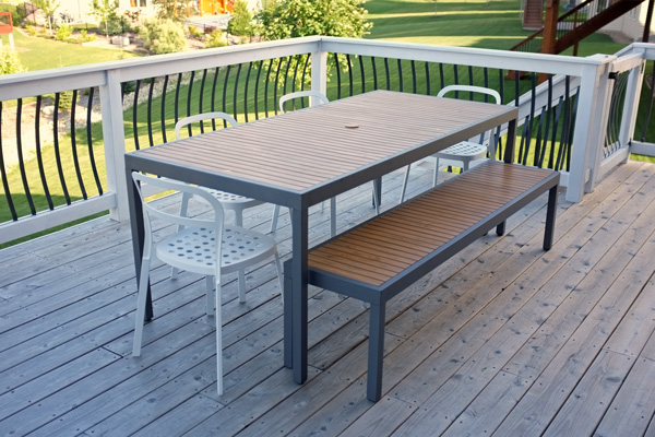crate barrel outdoor furniture. deck dining area crate barrel outdoor furniture o