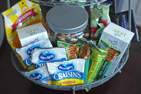 Snack Basket for a New Mother