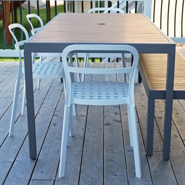 white ikea reidar chairs