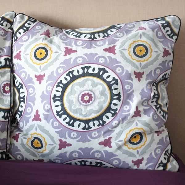 Suzani Euro Pillows