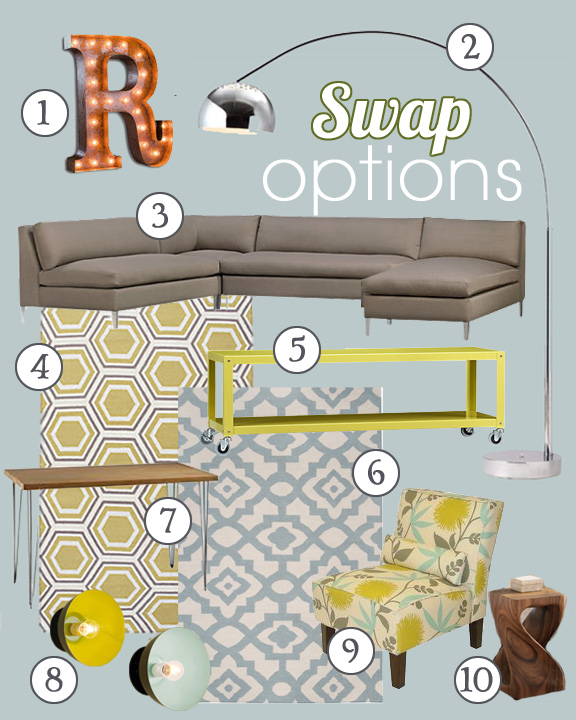 High Style Hang Out Swap Options