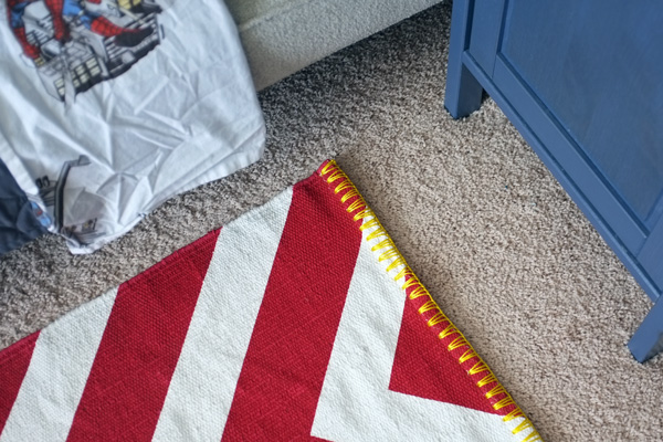 A Rug Fit for a Super Hero
