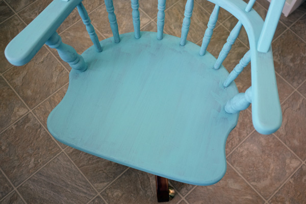 Annie Sloan Chalk Paint First Coat