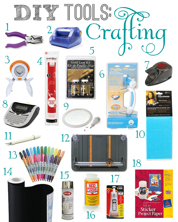 DIY Crafting Tools