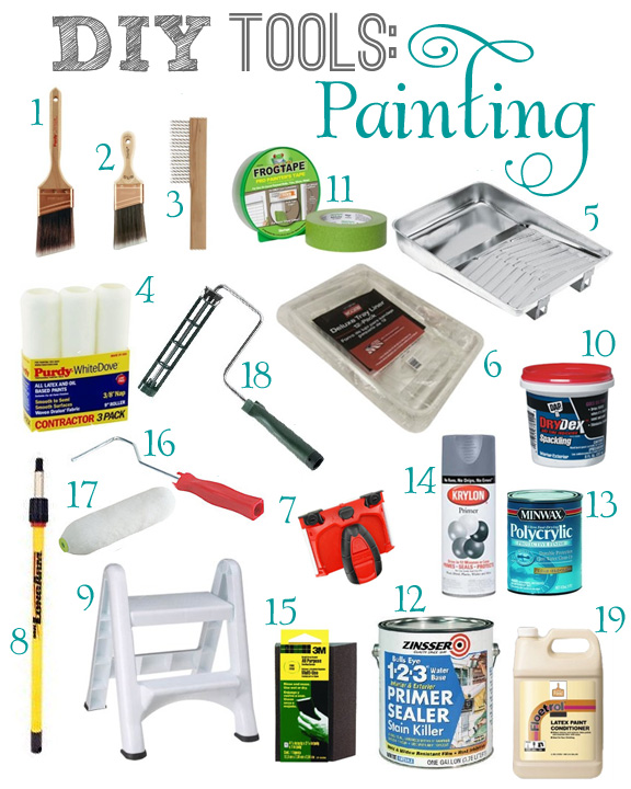 DIY Tools: Painting