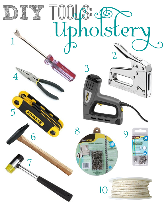 Diy Tools Upholstery