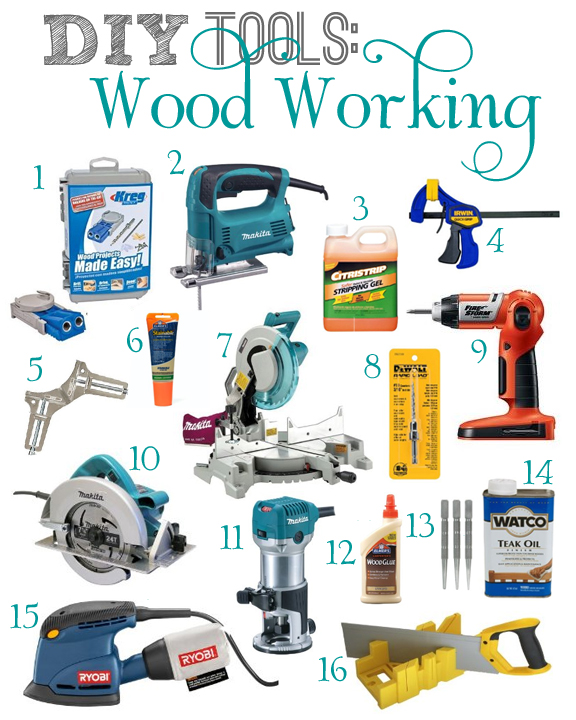 Diy tools wood working Tools to build a house