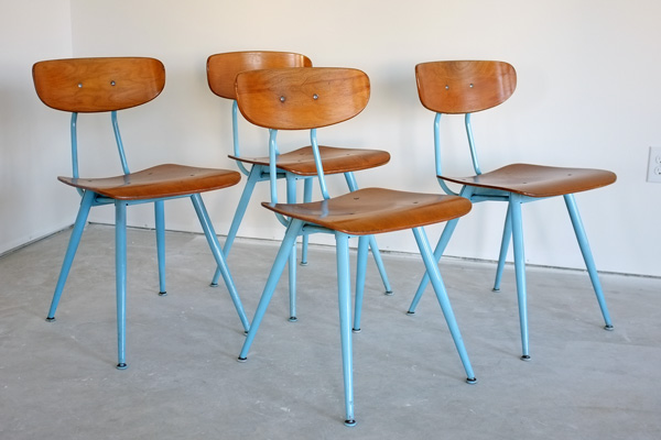 Vintage classmate chairs