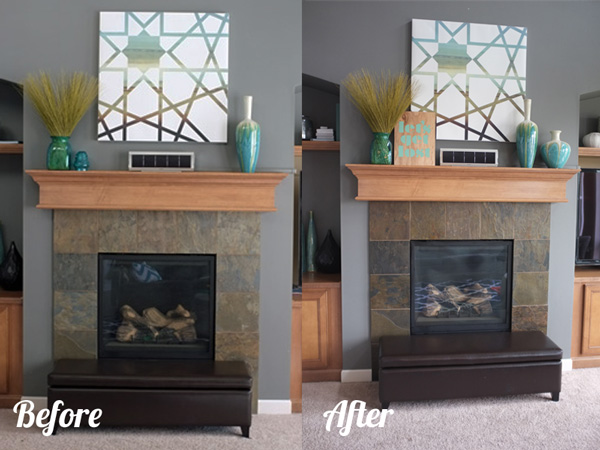 sprucing up the fireplace school of decorating by jackie hernandez
