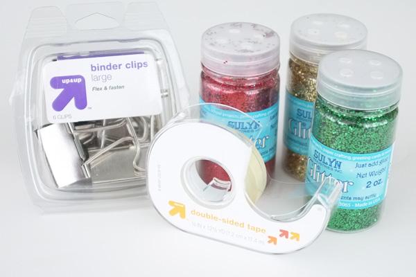 Binder Clip Card Holders