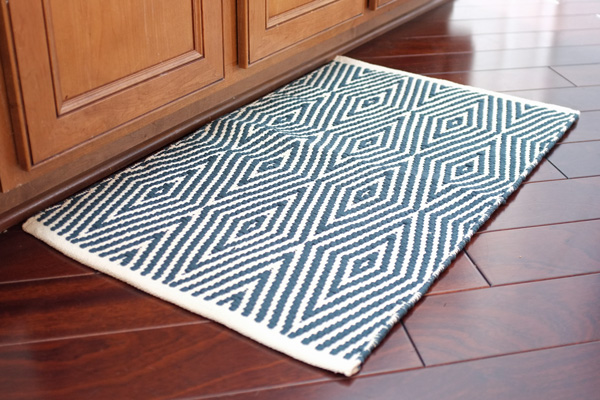 Bath Rug In The Kitchen