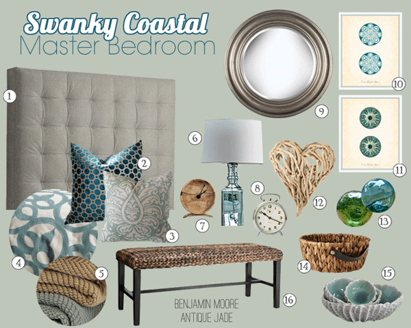 Swanky Coastal Master Suite Before Amp After School Of