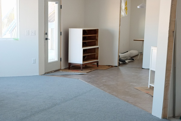 How i saved over 700 on cork flooring for the basement corkfloor1 solutioingenieria Image collections