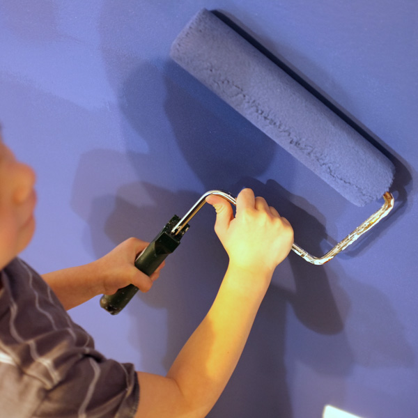 Painting Walls with Kids