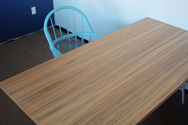 zebra wood desk