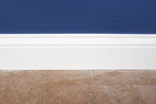 how to make baseboards look seamless