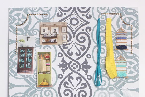 Giant Fabric Covered Pin Board Tutorial School Of Decorating