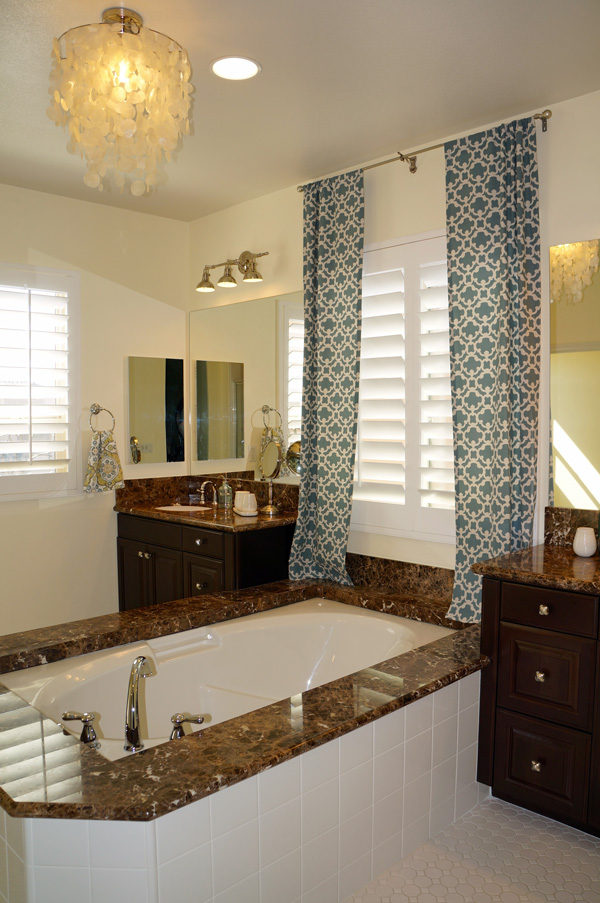 Swanky Coastal Bathroom Makeover
