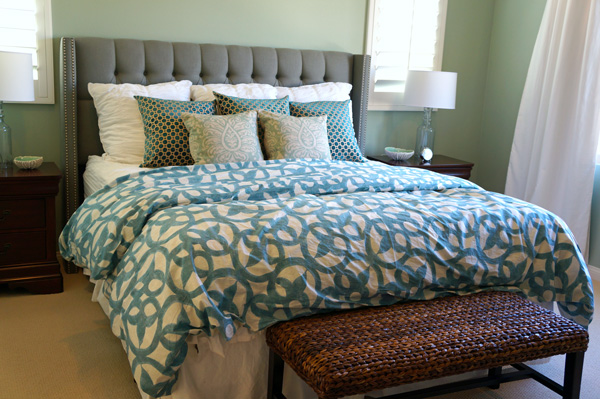 Swanky Coastal Bedroom Makeover