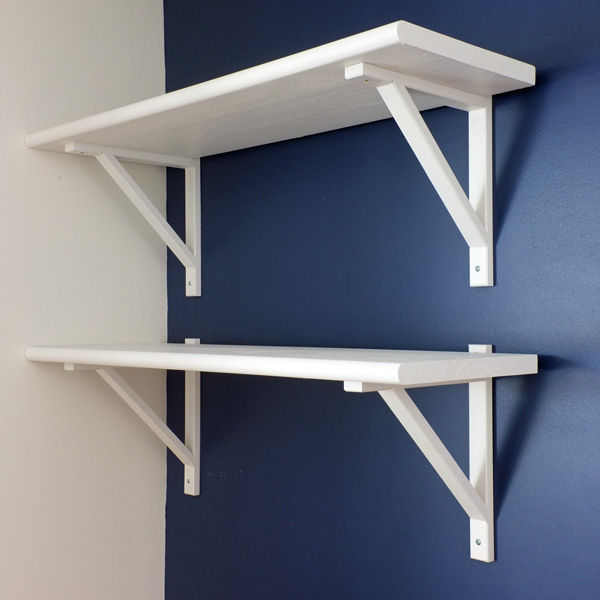 white stair tread shelves - White Stair Tread Shelves School Of Decorating By Jackie Hernandez