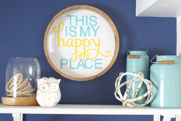 This Is My Happy Place Diy Serving Tray Art