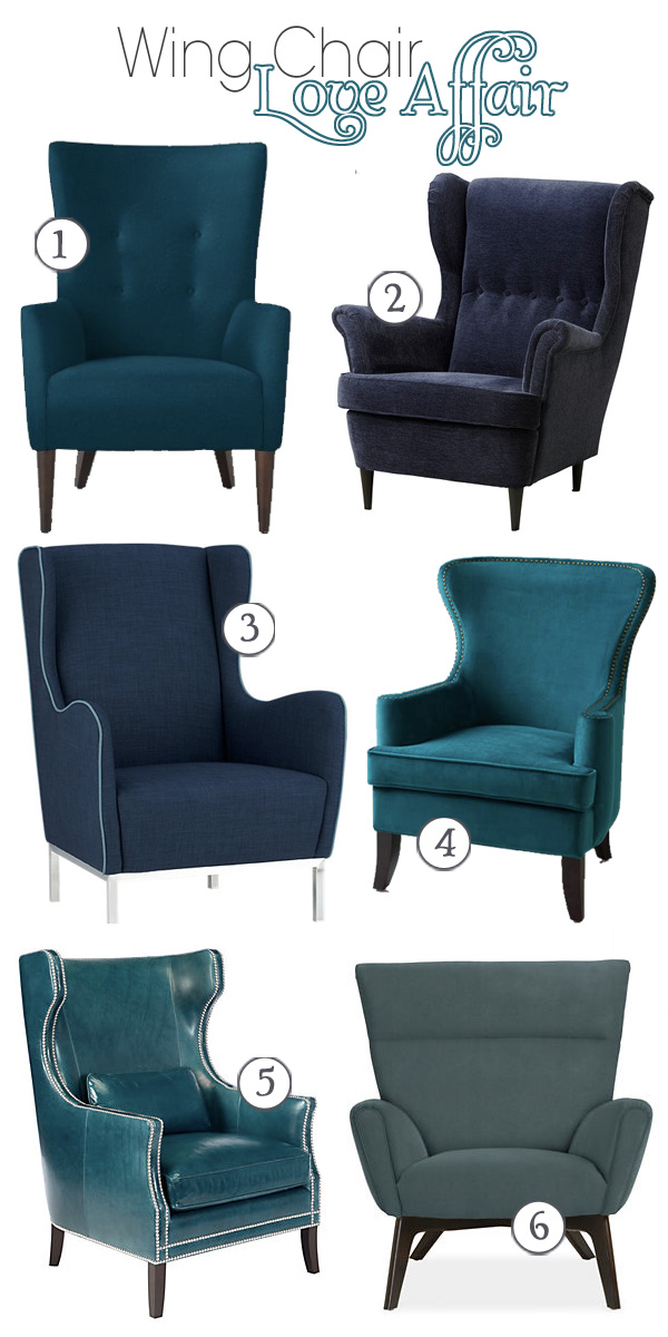 Wing Chair Love Affair