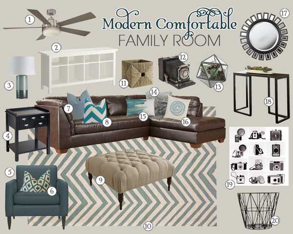Pagelines school of for Comfortable family room