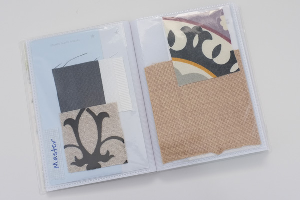 Paint & Fabric Swatch Book