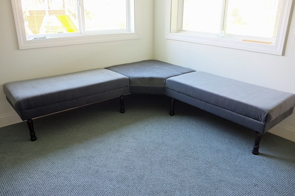 Diy Upholstered Built In Bench Part 2