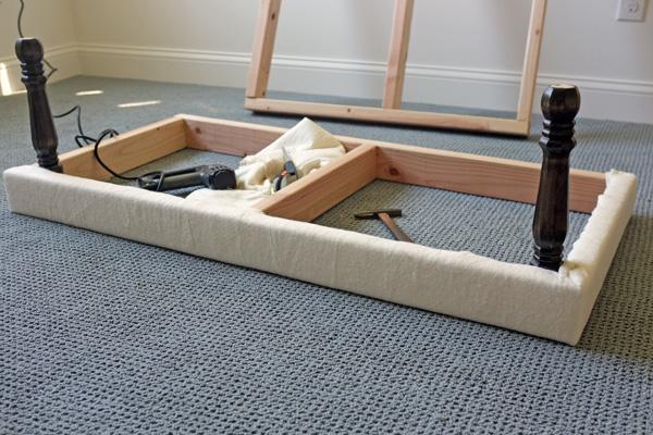 diy upholstered built in bench part 1 school of