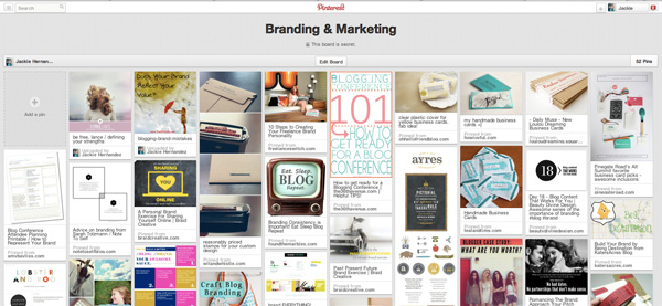 brandingpinboard