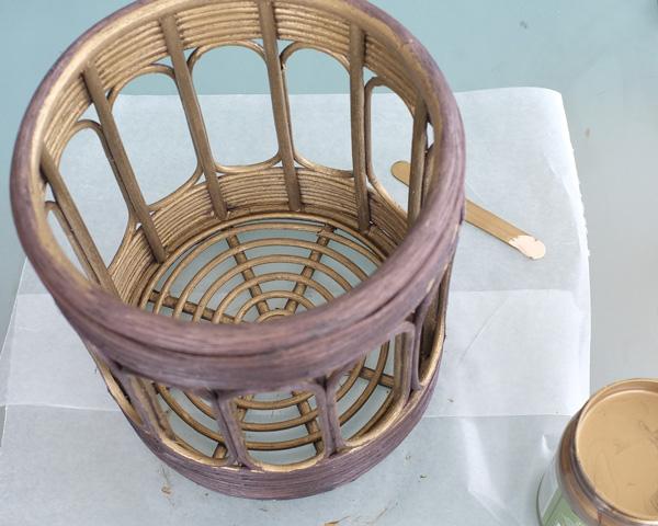 DIY Brass Pendant Light