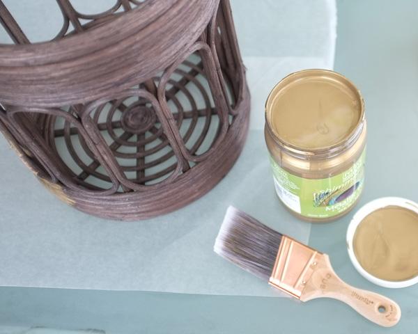 Metallic Antique Brass Paint