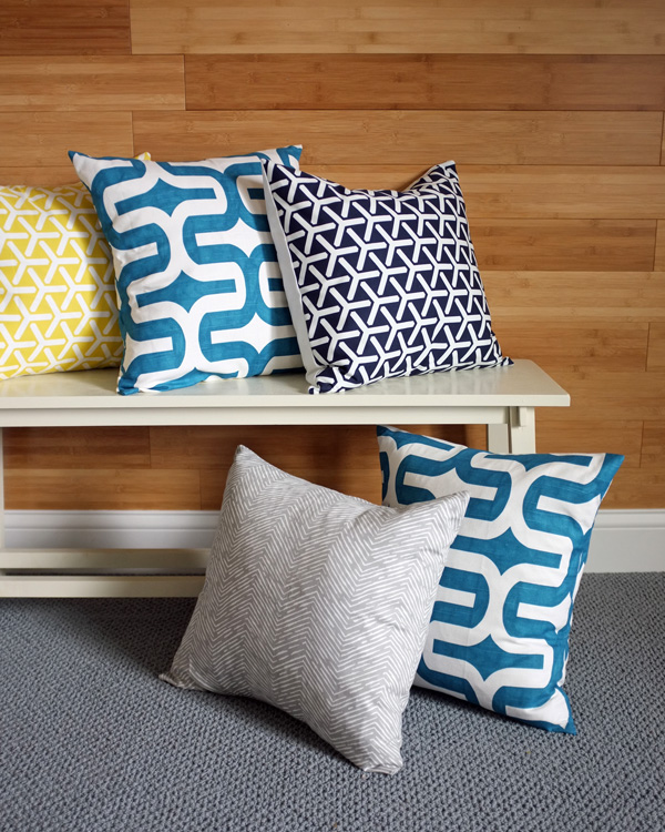 Diy Throw Pillow Cover No Sew : Hooray for Pillows! School of Decorating by Jackie Hernandez