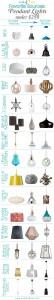 45 Pendant Lights Under $250 | tealandlime.com