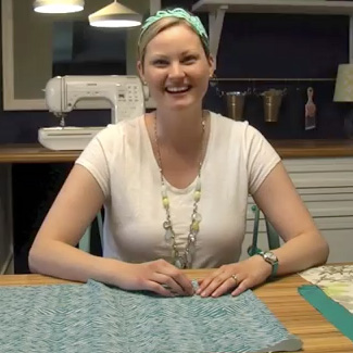 Easy Envelope Pillow Covers {Video Tutorial}
